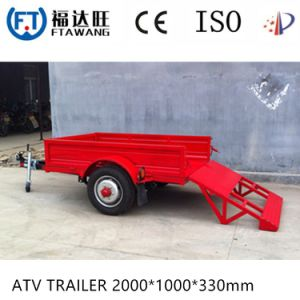 Galvanizing Continer Semi Trailer Lowbed Truck Trailer pictures & photos