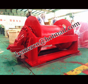Custom Built Hydraulic Winch with High Speed pictures & photos