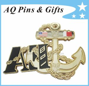 Zinc Alloy Metal Coin with Soft Enamel, Metal Challenge Coin pictures & photos