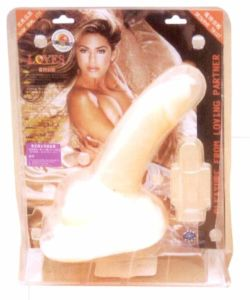 Sitting Ground Rocket Dildos Sex Toy for Woman (HY-0134)