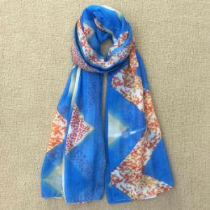 Wholesale Cotton Pashmina Shawl Digital Print Custom Scarf pictures & photos