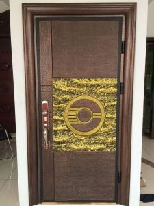 Classical Pattern Security Copper Door pictures & photos