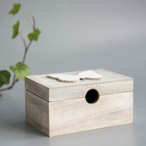 Cheap High-Quality Wooden Trinket Box with Lid pictures & photos