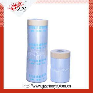 Transparent Plastic PE Masking Film for Car Painting Protection pictures & photos