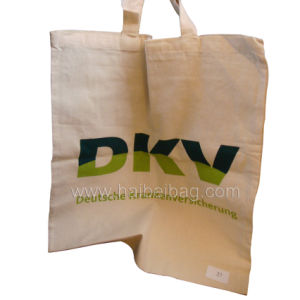 Promotional Shopping Jute Bag, Canvas Cotton Tote Bag (HBCO-15) pictures & photos
