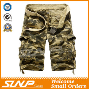 100% Cotton Camouflage Cargo Pants for Men
