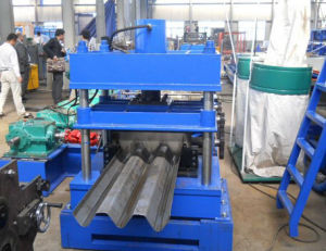 Galvanized Steel Highway Safety Standard Size W Beam Expressway Guardrail Cold Roll Forming Machine pictures & photos