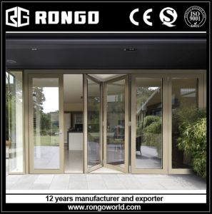 China Factory Aluminum Bi-Fold Door pictures & photos