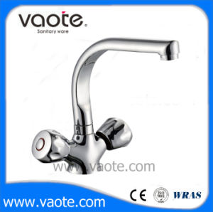 Double Brass Body Kitchen Sink Faucet/Mixer (VT60405) pictures & photos