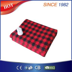 Comfortable Fleece Heated Blanket with Certificate pictures & photos