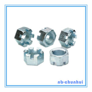 Hex Nut Hexagon Slotted Nut-1-1/4~1-1/2