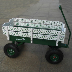 Wood Fence Radio Flyer Wagon pictures & photos