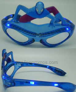Spiderman Shape Party Supply LED Sun Glass pictures & photos