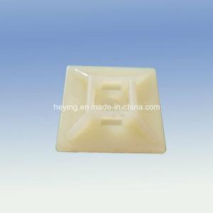 Plastic Nylon Locking Self Adhesive Wire Clamp pictures & photos