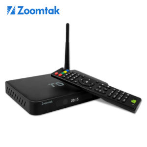 Dual Band WiFi Zoomtak T5 TV Box with Kodi 14.1 pictures & photos