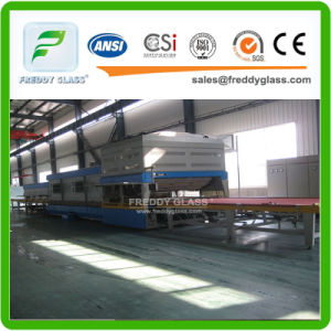 Tempered/Toughen/Safety/Door/Window Glass with Holes and Polished Edges pictures & photos