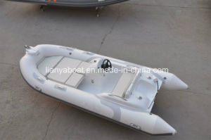 Liya 4.3m China Boats Inflatable Fiberglass Fishing Boat pictures & photos