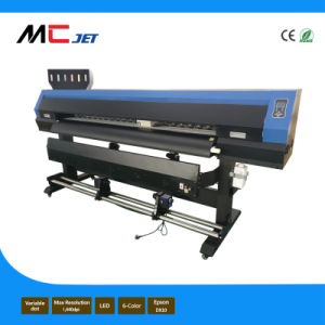 Mcjet 1.3m Eco Solvent Digital Flex Plotter Machine with Epson Dx10 for Indoor pictures & photos