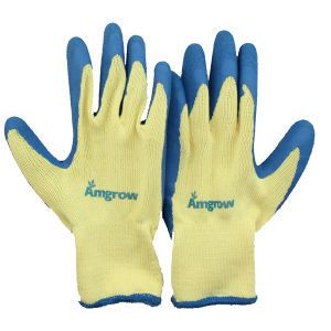 Nitrile Coated Palm Safety Gloves pictures & photos