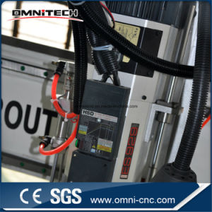 High Precision 4 Axis Auto Tool Changer CNC Router with Ce/SGS Cetificated pictures & photos