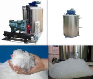 Competive Supplier Flake Ice Making Machine pictures & photos