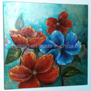 High Quality Modern Colorful Flower Decorative Oil Painting for Living Room (LH-700540) pictures & photos