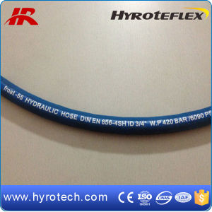 DIN En856 4sh and SAE 100r12 for Hydraulic Hose pictures & photos