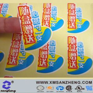 Full Color Self Adhesive Glossy Scratch Resistant Products Packaging Labels pictures & photos