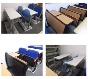 University/ College Furniture Chair with Desk/ Step Chair pictures & photos