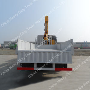10t Crane Truck Sino HOWO 4X2 Truck Mounted Crane pictures & photos