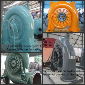 Horizontal Shaft Francis Turbine of Virous Capacities pictures & photos