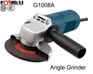 G1008A Adjustable Speed Electric Angle Grinder pictures & photos