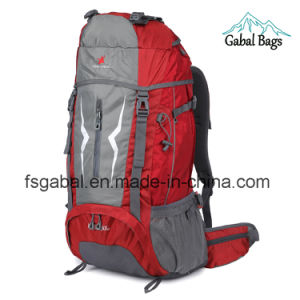 Large Travel Outdoor Mountain Camping Mochila Hiking Pack Backpack Bag pictures & photos