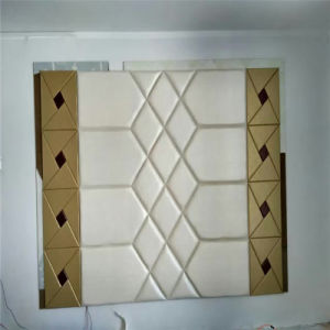 3D Acoustic Wall Panel Decoration Wall Panel Decorative Board Soft Roolls PU Leather pictures & photos