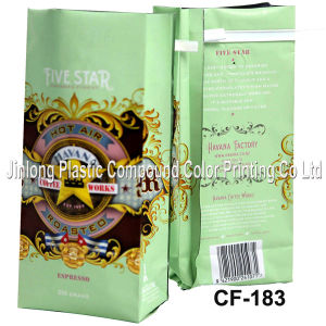 Quad Sealed Pouch for Coffee Beans and Coffee Powder pictures & photos