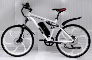 Magnesium Whole Wheel Mountain Electric Bicycle pictures & photos