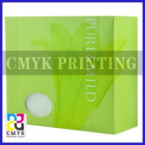 Makeup Cotton Box with PVC Window pictures & photos