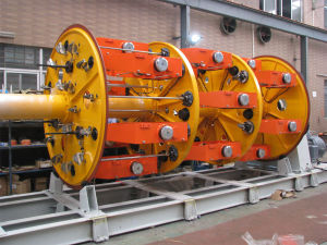 Planetary Type Wire and Cable Twisting Bunchine Coiling Machine pictures & photos