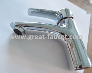 Solid Brass Bathroom Basin Faucet Basin Tap 5-Year Warranty (GL35401A54) pictures & photos