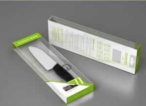 Fashionable Ceramic Santoku/Sushi/Pizza Knife with ABS+TPR Handle pictures & photos