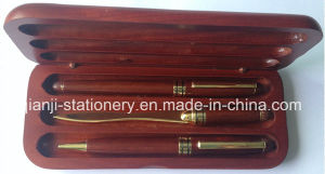 Gift Wooden Pen Set Fountain Pen Ball Pen Letter Opener pictures & photos