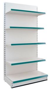 Single-Side Backboard Supermarket Shelf pictures & photos