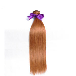 "Peruvian 100% Human Hair Weave Cheap Human Hair #30 18"" pictures & photos"