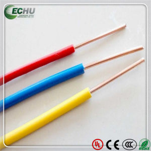 Solid Wire RoHS PVC Insulated Power Copper Cables pictures & photos