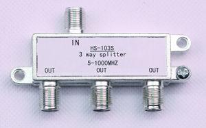 3way Indoor CATV Splitter (SHJ-HS103S) pictures & photos