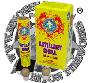 Golden One Artillery Shells Fireworks pictures & photos