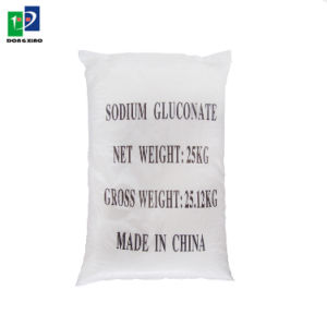 White 99% Gluconic Acid Sodium Salt as Set Retarder