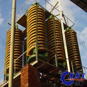Alluvial Gold Beneficiation for Beneficiation Placer Equipment Spiral Chute pictures & photos