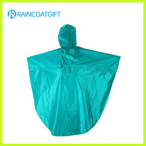 Water Resistance Polyester PU Rain Poncho Rpy-066 pictures & photos