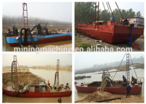 Factory Direct Sell River Sand Carrier Dredger Boat pictures & photos